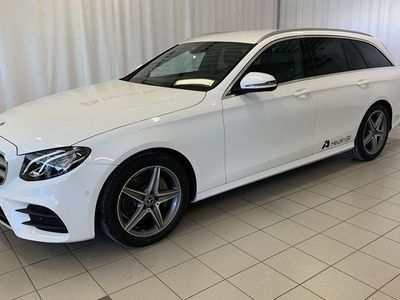 begagnad Mercedes E220 KOMBI/AMG/DRAG