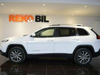 begagnad Jeep Cherokee 2.0 CRD 4WD Aut Limited Panorama Kamera 2015, SUV Pris 189 900 kr