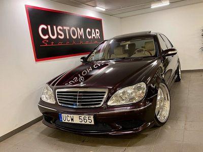 begagnad Mercedes S500L 4M 4MATIC Amg 306hk
