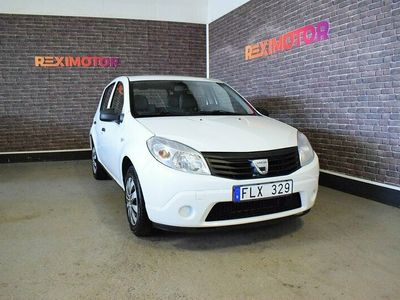 begagnad Dacia Sandero 1.6 87hk Ny Besiktad