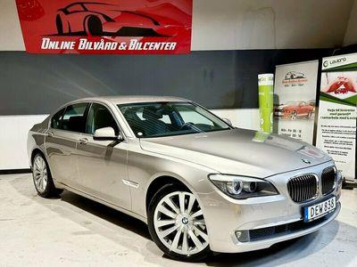 begagnad BMW 730L d Steptronic 245hk /Pedantskött Lyxbil / 8731 mi