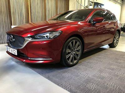 begagnad Mazda 6 Signature 194HK Tjänstebil 800mil Omgående leverans