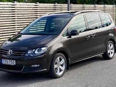 begagnad VW Sharan 2.0 TDI DSG Premium, Skinn