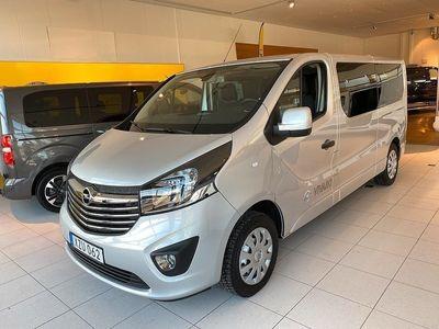 begagnad Opel Vivaro Kombi 1.6 CDTI BIturbo 125hk Premium 9-sits