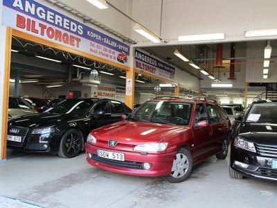 gebraucht Peugeot 306 1.8 Kombi 110hk 0%Ränta