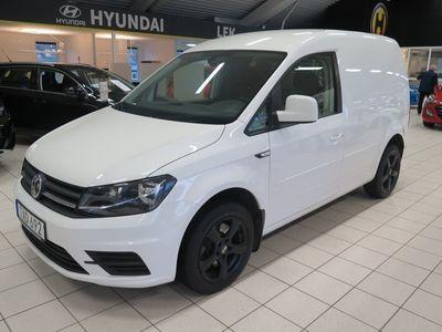 begagnad VW Caddy 2.0 TDI Skåp AUT 2016, Transportbil 184 900 kr