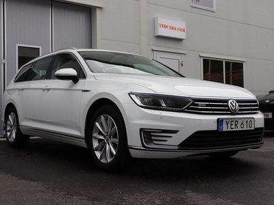 begagnad VW Passat GTE PLUG-IN-HYBRID SKINN MO