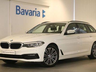 begagnad BMW 520 d xDrive Touring Sport line Winter Drag HiFi 2020, Kombi 409 700 kr