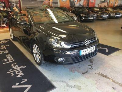 begagnad VW Golf Cabriolet 1.4 TSI 160Hk Premium Comfort Design & Style