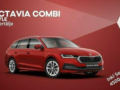 begagnad Skoda Octavia Combi iV STYLE Plug-in Omgående leverans 2021, Personbil Pris 379 000 kr