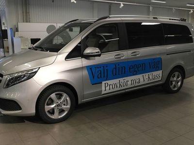 begagnad Mercedes V250 D AVANTGARDE LÅNG