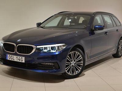 begagnad BMW 520 d Touring Sportline, Drag, Värmare, Backkamera