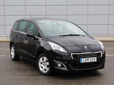 begagnad Peugeot 5008 1.6 HDi 7-sits Automat Euro 6