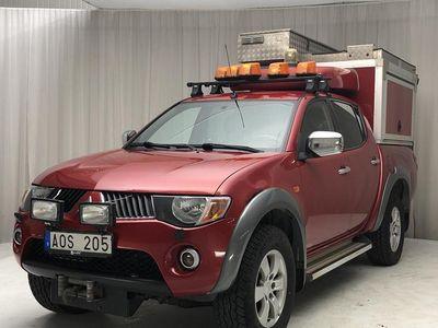 begagnad Mitsubishi L200 2.5 DI-D 2008, Personbil 80 000 kr