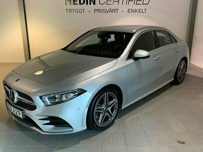 begagnad Mercedes A220 A Benz4MATIC SEDAN 7G-DCT AMG-Sport 2020, Halvkombi Pris 349 900 kr