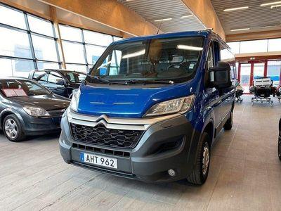 begagnad Citroën Jumper 130 hk L2H1 Inredning NAV Blue