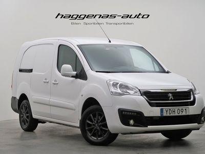 begagnad Peugeot Partner L2 1.6 BlueHDI / 99hk / Facelift