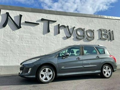 begagnad Peugeot 308 2.0 140hk 7-SITS NYSERVAD !