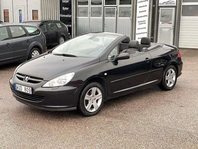 begagnad Peugeot 307 CC 2.0 140hk*Helskinn*Lågmil*