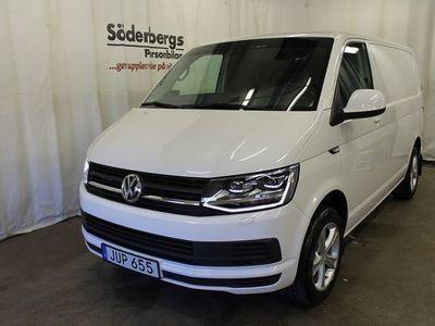 begagnad VW Transporter 2.0 TDI DSG Skåp 300 Kort Värmare & Drag 2016, Transportbil 219 875 kr