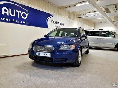 begagnad Volvo V50 1.8 Flexifuel 125hk
