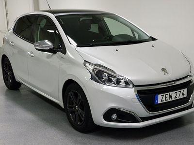 begagnad Peugeot 208 1.2 VTi Aut/Panorama/82hk/5dr