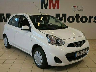 begagnad Nissan Micra 1.2 Euro 6 80hk GARANTI BLUETOOTH