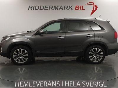 begagnad Kia Sorento 2.2 CRDi 4WD Skinn 7-sits Navi 197hk
