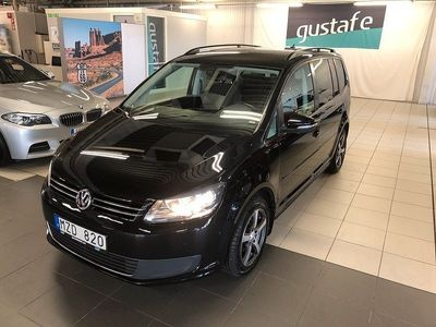 begagnad VW Touran 1.6 TDI BlueMotion 7-sits 105hk 7-sits