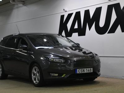 begagnad Ford Focus Kombi 2.0 TDCi 150hk | Titanium | Drag | Navi | S&V-hjul