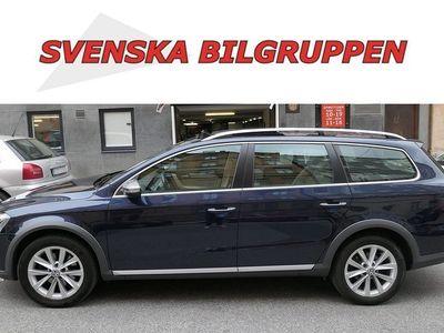 begagnad VW Passat Alltrack 2.0 TDI 4M DSG Skinn Glastak Värmare