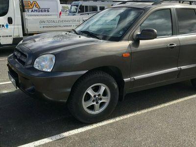 begagnad Hyundai Santa Fe 2.7 GLS