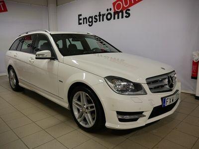 begagnad Mercedes C200 CDI 136hk Aut