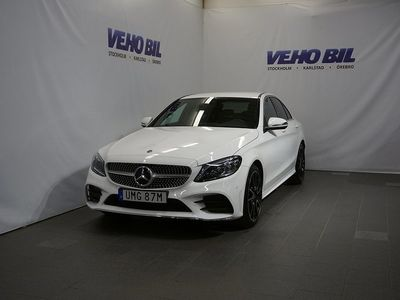 begagnad Mercedes 220 C4MATIC AMG Värmare Backkamera Navi Apple Carplay