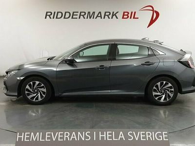 begagnad Honda Civic 5-dörrar 1.0 Eu6 129hk Adaptiv Lane Assist