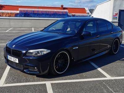 begagnad BMW 535 d M-sport | Navi | Taklucka | Head-up -12