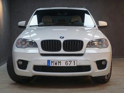 begagnad BMW X5 xDrive40d M-Sport HiFi Navi Komfortstolar V-Hjul