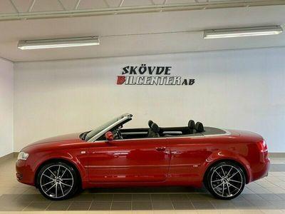 """begagnad Audi A4 Cabriolet 1.8T S-Line/18""""/El-Cab/Finans"""