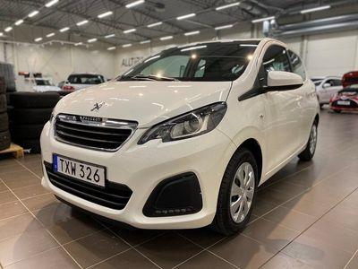 begagnad Peugeot 108 5-dörrar 1.0 VTi Euro 6 72hk