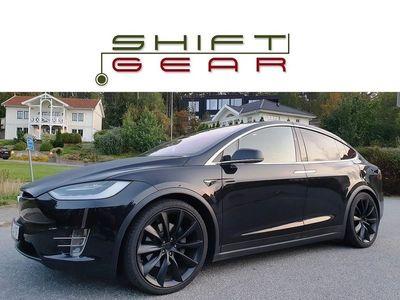 begagnad Tesla Model X 60D 6sits 22 tum AP2 Drag Ditec