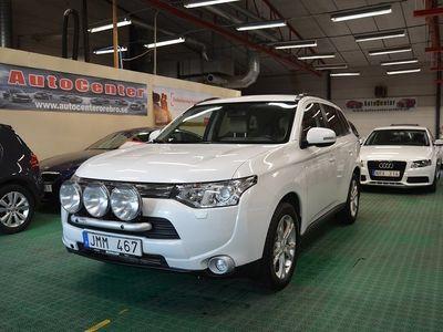 begagnad Mitsubishi Outlander 2.2 Di-D 4WD 7-sits 150hk