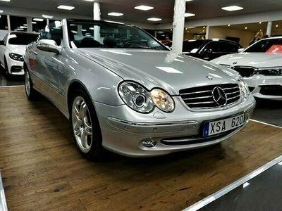 begagnad Mercedes 500 CLK BenzCabriolet Automat Avantgarde 2003, Cab Pris 189 900 kr