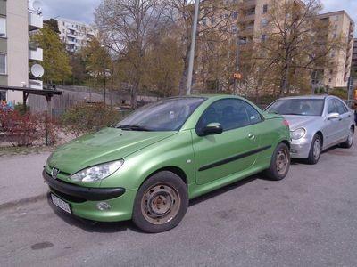 used Peugeot 206 CC 1.6 TipTronic 109hk / AUTOMAT -02
