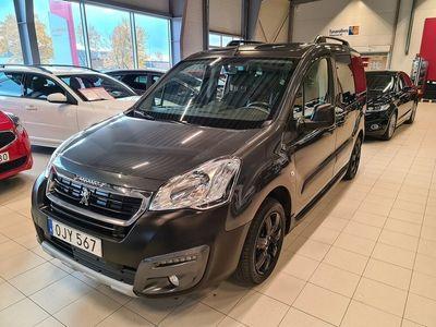 begagnad Peugeot Partner Tepee 1.6 BlueHDi Euro 6 (120 HK)