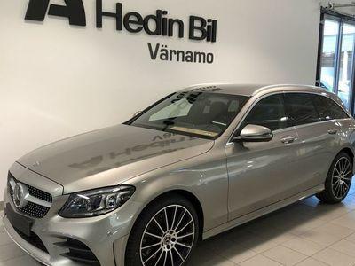 begagnad Mercedes C300 4-M AMG Förarassistent Massage