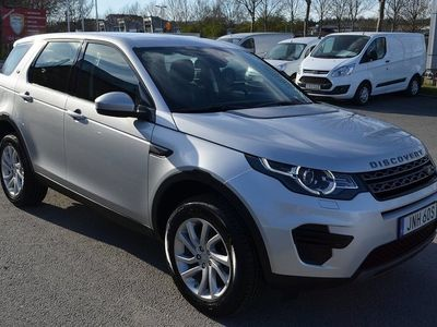 begagnad Land Rover Discovery Sport 2.0 TD4 AWD Aut.180HK 7Sits