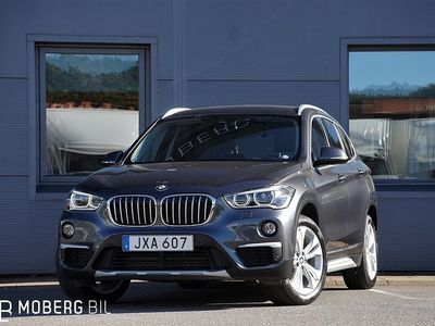 begagnad BMW X1 xDrive 18d 150hk Aut X-Line Drag