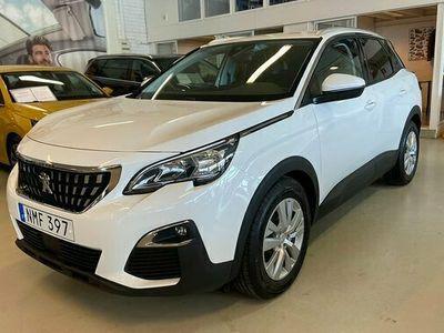 begagnad Peugeot 3008 1.2 PureTech EAT Active Aut Dragkrok 2017, SUV Pris 179 900 kr