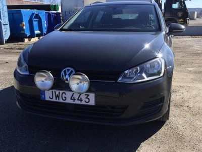 begagnad VW Golf VII 1.6 TDI BlueMotion Sportscombi 4Motion (110hk)