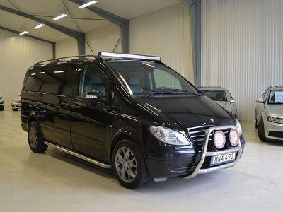 begagnad Mercedes Viano 3.0 Aut 6sits Sv-Såld 204 -08